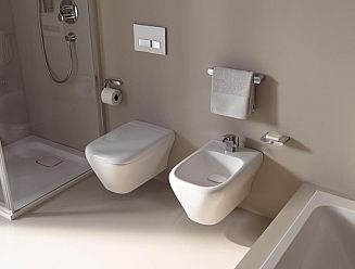 Keramag Design Myday Pan and Bidet