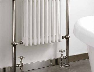 Instinct Hemsworth hot water towel rail