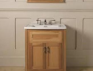 Imperial Radcliffe Thurlestone oak vanity unit