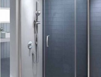 Instinct 8 single door quadrant shower enclosure