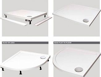 Instinct shower trays